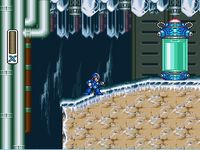 Mega Man X, capture décran